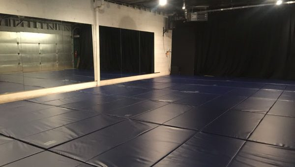 New mats for the dojo arrive!