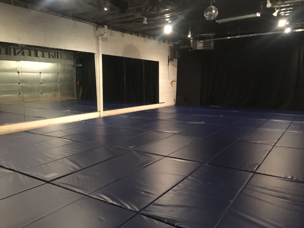 Dojo with new mats