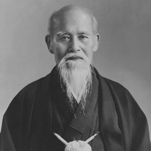 Morihei Ueshiba portrait photo