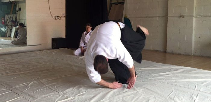 How to Do an Aikido Forward Roll