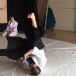 Aikido backward roll