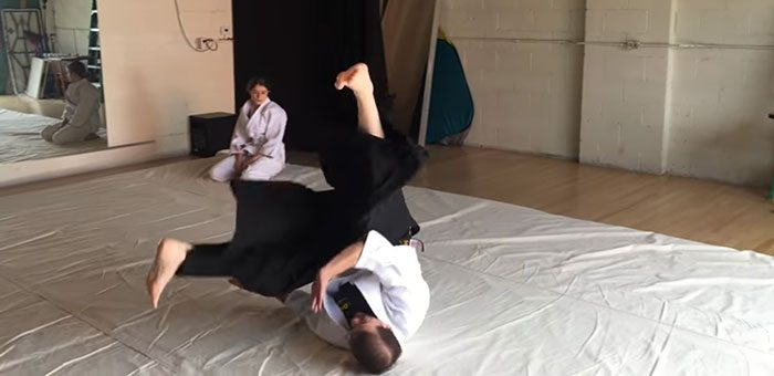 How to Do an Aikido Backward Roll