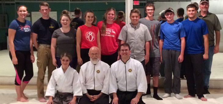 Aikido Training for Team Development
