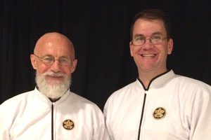 Dojo Instructors - Philippe Wyffels Sensei and Gerry Carpenter Sensei