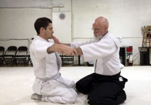 Aikido sitting technique